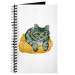 Tabby Cat Drawing Journal