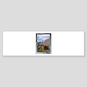 Desert Scene Sticker (Bumper)
