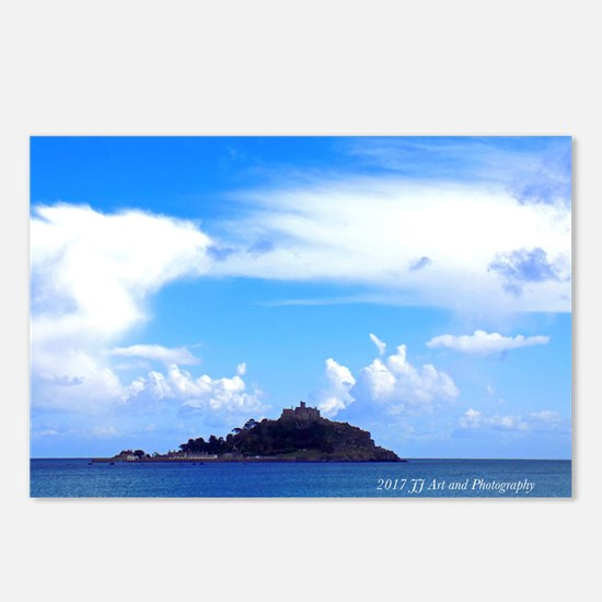 St. Michael's Mount Postcards (package Of 8)