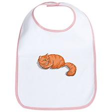 Ginger Cat Bib