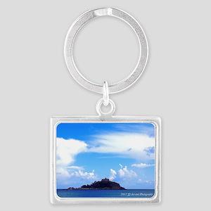 St Michael's Mount Landscape Keychain Keychain
