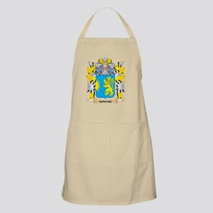 Simone Family Crest - Coat of Arms Light Apron