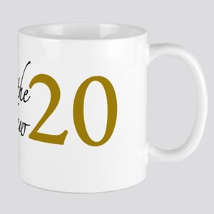 40 is the new 20 (Cougar) Mug