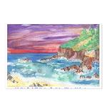 John Muir Beach, CA Monterey Postcards (Package of