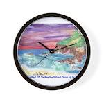 John Muir Beach, CA Monterey Wall Clock