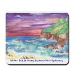 John Muir Beach, CA Monterey Mousepad