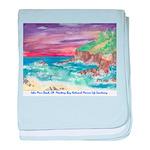 John Muir Beach, CA Monterey Infant Blanket