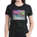 John Muir Beach, CA Monterey Women's Dark T-Shirt