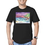 John Muir Beach, CA Monterey Men's Fitted T-Shirt