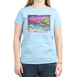 John Muir Beach, CA Monterey Women's Light T-Shirt