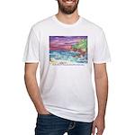 John Muir Beach, CA Monterey Fitted T-Shirt