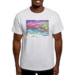 John Muir Beach, CA Monterey Light T-Shirt
