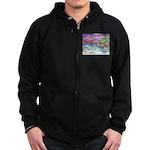 John Muir Beach, CA Monterey Zip Hoodie (dark)