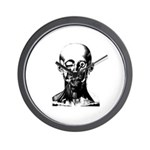 Bougery Face Sketch Wall Clock