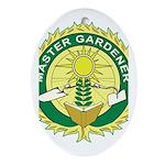 Master Gardener Seal Oval Ornament