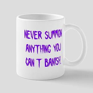 Never Summon Anything You Can Mug