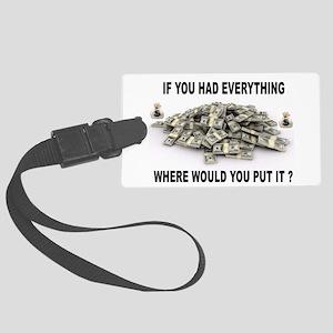 EVERYTHING Luggage Tag