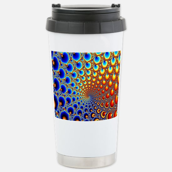 Hypnotic Portal Stainless Steel Travel Mug