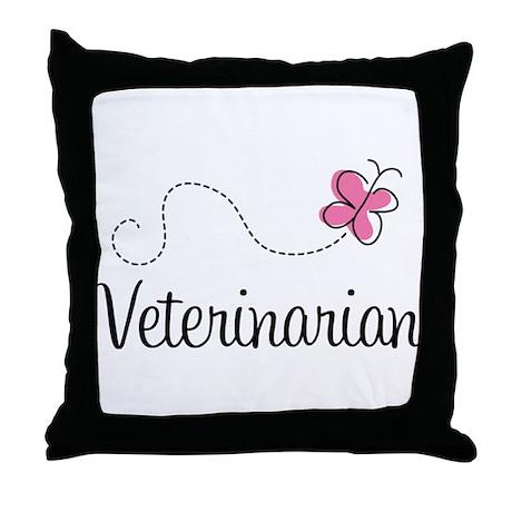 Cute Veterinarian Throw Pillow