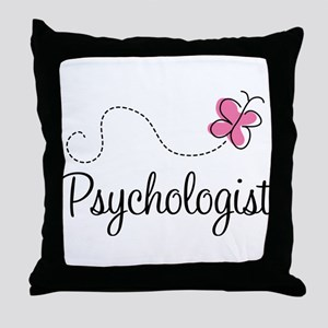 Cute Psychologist Throw Pillow