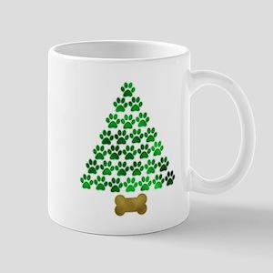 Dog's Christmas Tree Mug