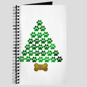 Dog's Christmas Tree Journal