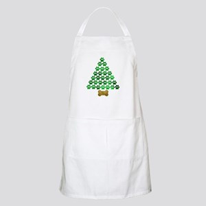 Dog's Christmas Tree Apron