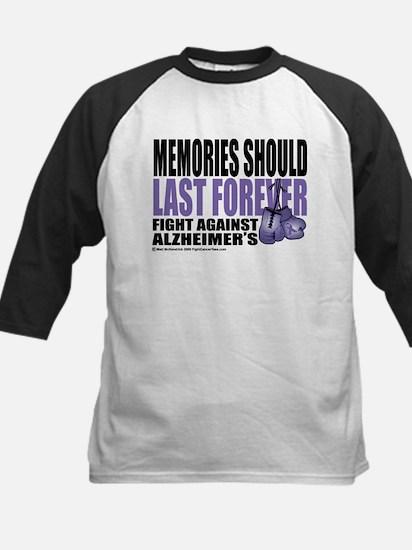 Memories Last Forever Kids Baseball Jersey