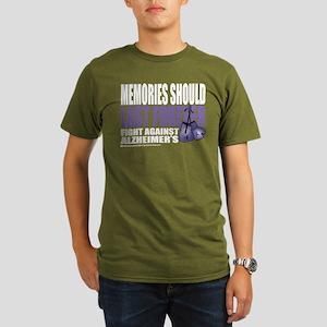Memories Last Forever Organic Men's T-Shirt (dark)