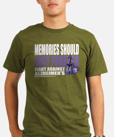 Memories Last Forever Organic Men's T-Shirt (dark)
