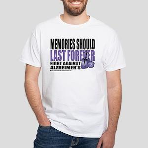 Memories Last Forever White T-Shirt