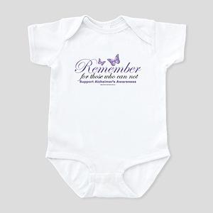 Remember Alzheimer's Infant Bodysuit