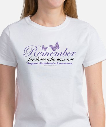 Remember Alzheimer's Women's T-Shirt