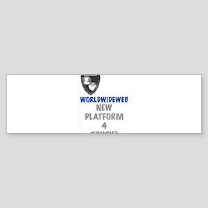 World Wide Web Bumper Sticker