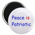 Peace is Patriotic Magnet
