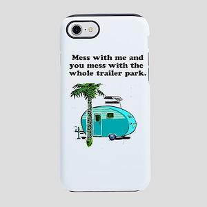 trailer park iPhone 7 Tough Case