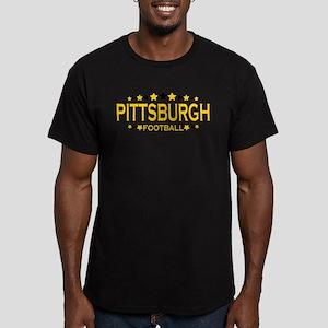 Pittsburgh Men's Fitted T-Shirt (dark)