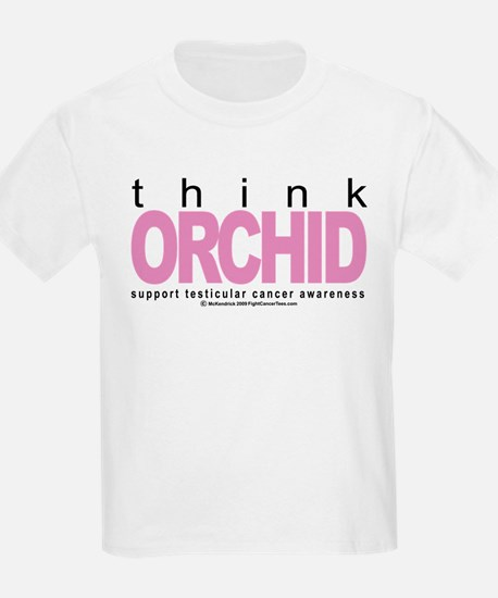 Testicular Cancer Think Orchi T-Shirt