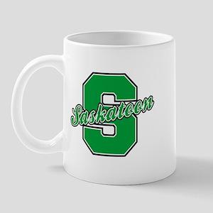 Saskatoon Letter Mug
