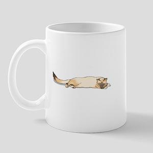 Seal Point Siamese Cat Portrait Mug