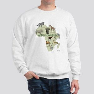 african wildlife Sweatshirt