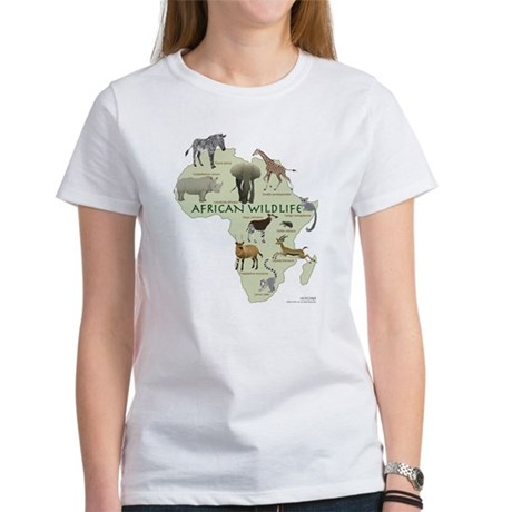 african wildlife Women's T-Shirt