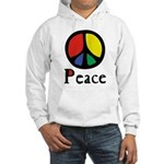 Flowing Peace Colour Hooded Sweatshirt