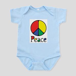 Emphatic Peace Colours Infant Bodysuit