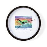 Santa Cruz Island, California Wall Clock