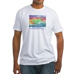 Santa Cruz Island, California Fitted T-Shirt