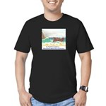 San Miguel Island, California Men's Fitted T-Shirt