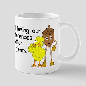 10th Anniversary Funny Chick and 11 oz Ceramic Mug