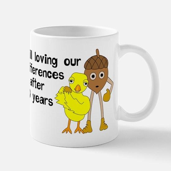 10th Anniversary Funny Chick and Mug