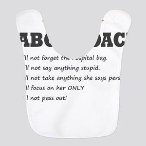 Rules of the Labor Coach Polyester Baby Bib